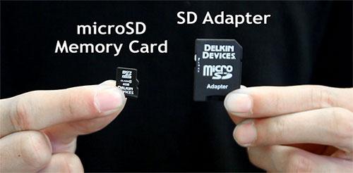 Micro SD card for dash cam use Australia